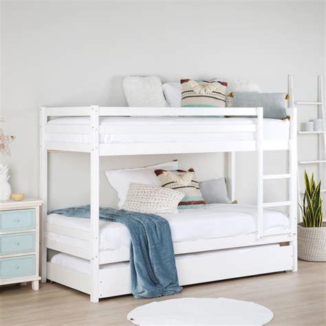 cama de litera kivu litera blanca con cama banak importa