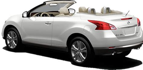 2011 nissan murano crosscabriolet softtop convertible