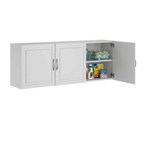 System Build Cabinets by Systembuild Kendall 54 Quot Wall Cabinet In White Aquaseal Ebay