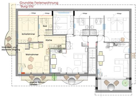 1 Bedroom Apartment by Vacation Home Burg Eltz