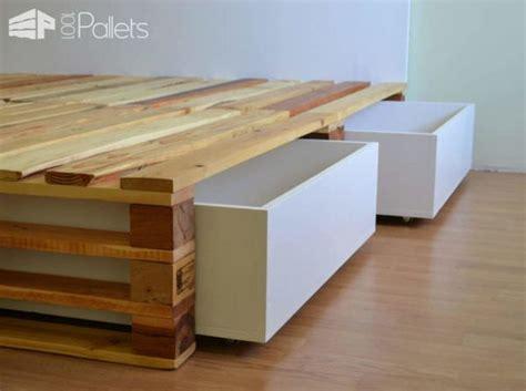 easy diy pallet bed frame simple pallets bed diy pallet bedroom pallet bed frames