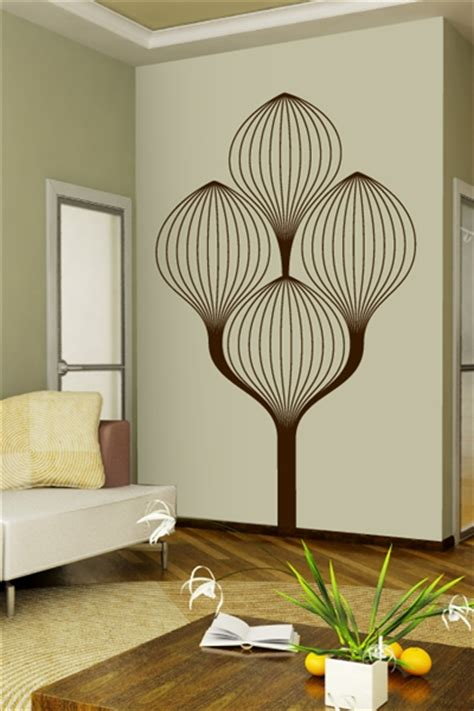 Art Deco Wall Stickers art deco tree wall decals walltat