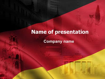 powerpoint layout germany germany tricolor presentation template for powerpoint and