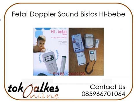 Fetal Dopper Biston Hi Sound fetal doppler sound bistos hi bebe toko alat kesehatan