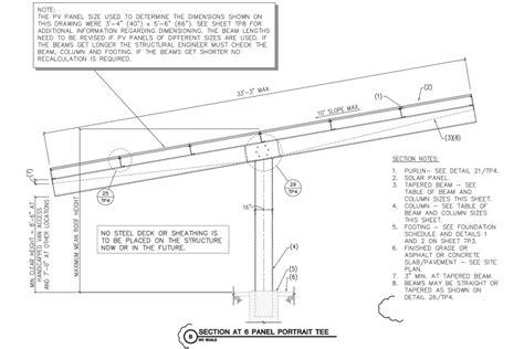 solar panel section slide in solar purlin engineering super purlin