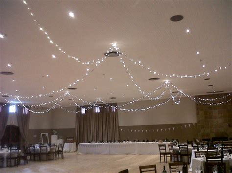 tips for hanging lights wedding event lighting