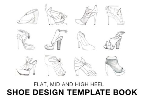 high heel shoe design template shoe design template booklet i can make shoes