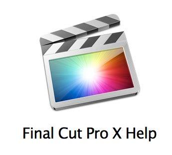 final cut pro rumors apple ha rilasciato i manuali per final cut pro x motion