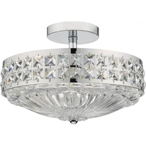 bedroom light fittings uk dar olo5350 olona 3 light semi flush ceiling light