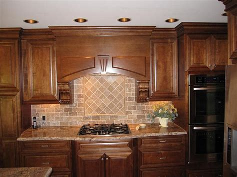 tumbled marble backsplash pictures and design ideas tumbled stone backsplash classic kitchen style ideas