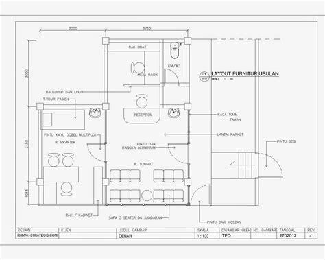 layout apotek dvd gambar kerja denah layout furnitur perencanaan klinik