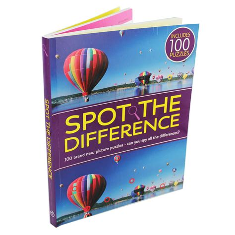 picture puzzle books spot the difference amazing picture puzzles spot the difference brain