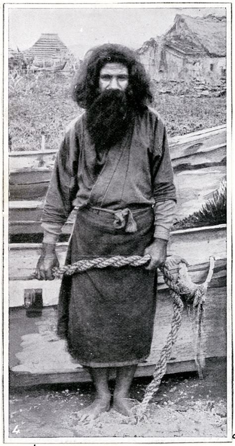 Ainu Japan 北海道土人アイヌ風俗 ainu hokkaido japan about 1900 black