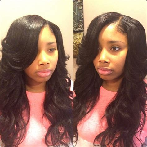 all hair makeover great side part weave styles you need