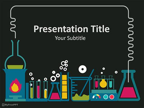 design experiment ppt free laboratory powerpoint template medical template
