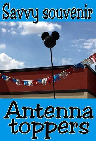 savvy souvenir disney antenna toppers disneyland walt