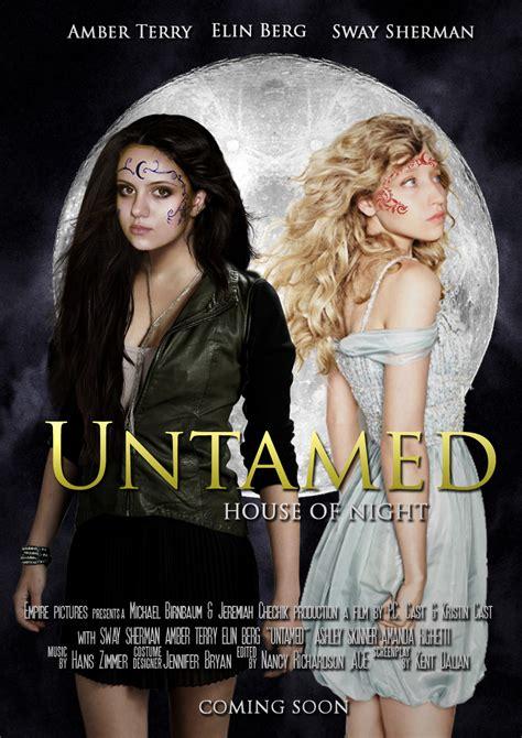 untamed house of night house of night untamed movie poster by zvunche on deviantart
