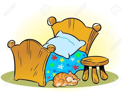 bett comic cat the bed clipart clipartxtras