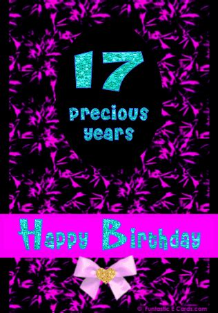 Happy Birthday Wishes For 17 Year Raven Sweet Seventeen All Types Of Poetry