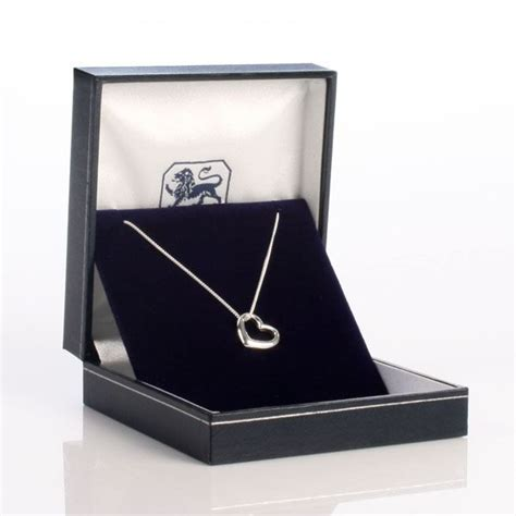 Gift Box Necklace necklace with personalised gift box the gift experience