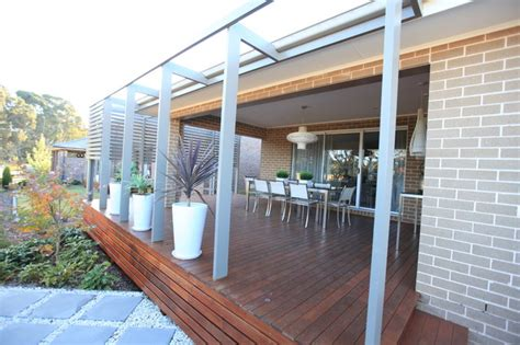 enclosed outdoor room and courtyard with open pergola