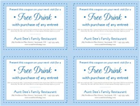 free printable restaurant coupons templates family restaurant coupon template marketing archive