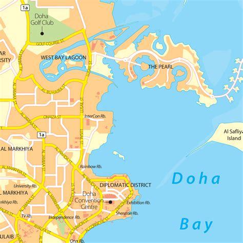 where is doha on world map doha map adriftskateshop