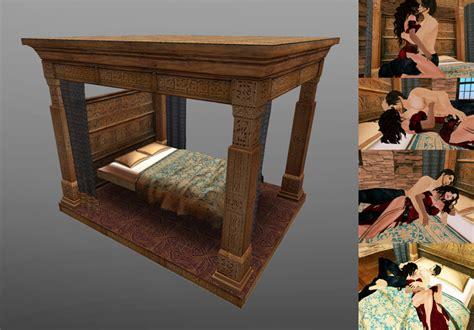 entity arabic antique bed entitysl
