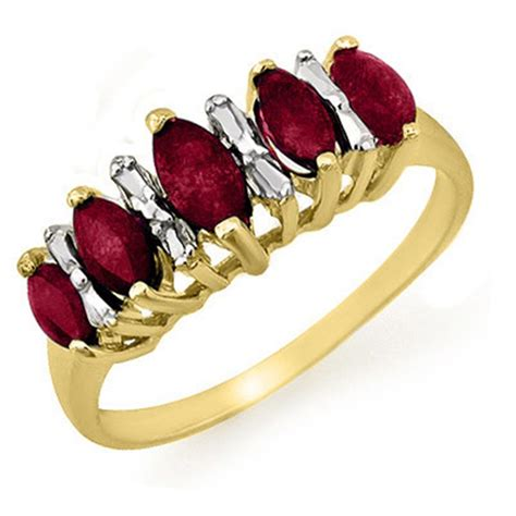 k white gold ring turning yellow ruby ring ruby rings gold