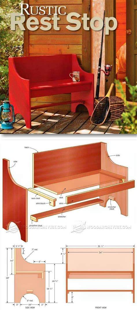 cedar log bench for the bus stop for the home pinterest log furniture plans warm home design