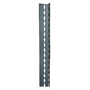 edsal shelving replacement parts edsal post 2 1 4 quot d 84 quot h 1 1 2 quot w 9eya5 rlu84 grainger
