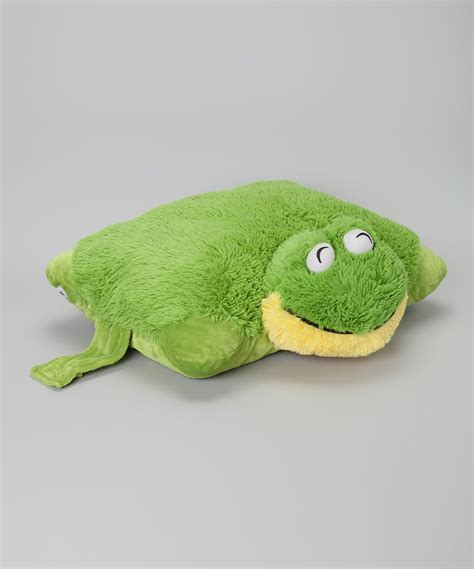 Frog Pillows by Pillow Pets Friendly Frog Pillow Pet Zulily