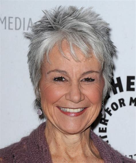 short grey hair for 40s women pinterest gray hairstyles for fine hair andrea romano hairstyle