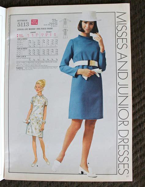 butterick catalog vintage sewing patterns girl