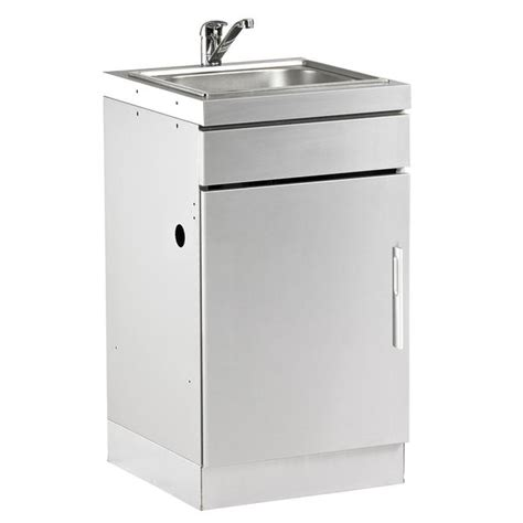 Outdoor Kitchen Sink Cabinet Beefeater Discovery 1100 Outdoor Kitchen Stainless Steel Cabinet With Garden Trends