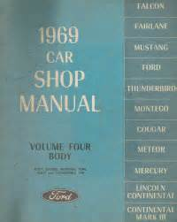 what is the best auto repair manual 1969 chevrolet camaro navigation system 1969 ford car body service manual volume 4