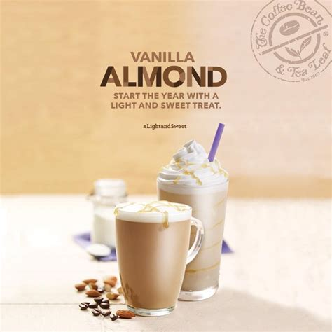 Coffee Bean Vanilla Blended make your days lightandsweet with cbtl s vanilla almond
