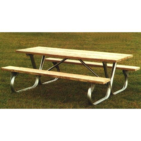 picnic table frames picnic table frame 6 or 8 ft bolted
