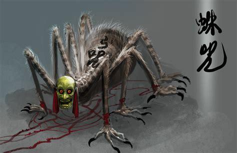 it monster spider monster by banhatin on deviantart