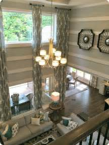 2 story living room living rooms eye candy and home tours on pinterest
