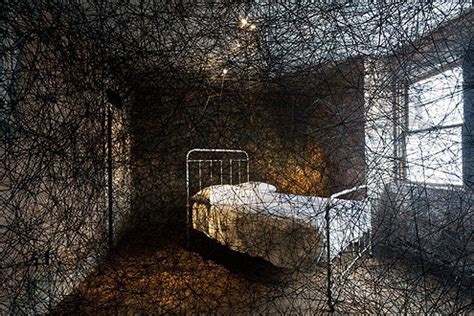 The Futon Factory by Installations Of Chiharu Shiota