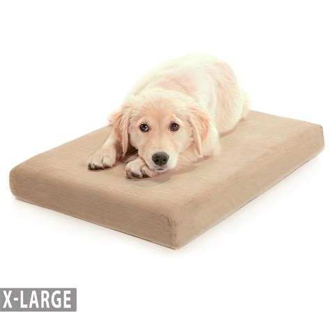x large dog bed memory foam dog bed with waterproof cover x large milliard