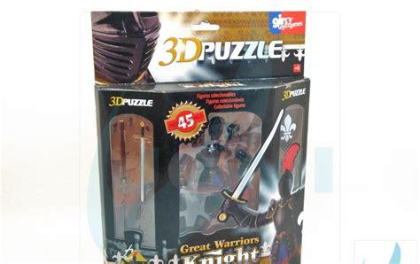 Terlaris Figur Figure Great Warrior Puzzle 4d European Crusader With jomi toys maintenance 3dpuzzle great warriors european black