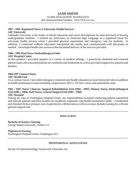 rn resumes exles bournemouth cv template choice image