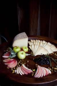 Fruit and Cheese Platter Presentation