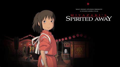 film anime terbaik spirited away spirited away animated poster youtube