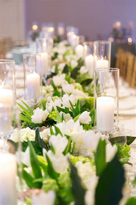tulips net kate 11 beautiful floral table runners for your wedding