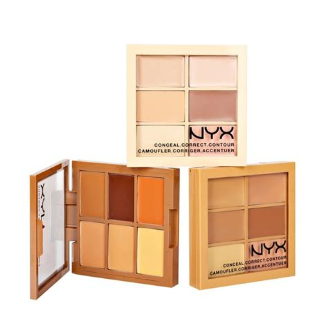Nyx Conceal Correct Contour Palette nyx conceal correct contour palette 01 light