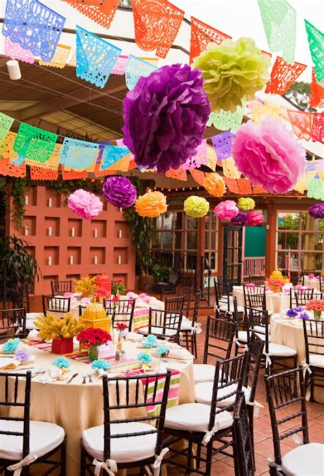 mexican themed dinner decorations wedding rehearsal by details details