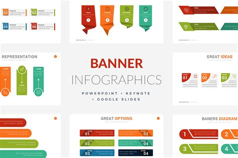 20 Banner Infographic Templates Powerpoint Keynote Google Slides Slides Infographic Template